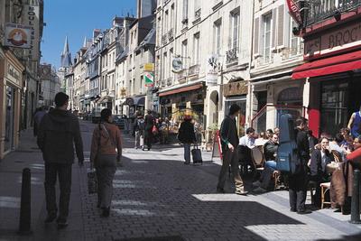 rues de la ville de caen