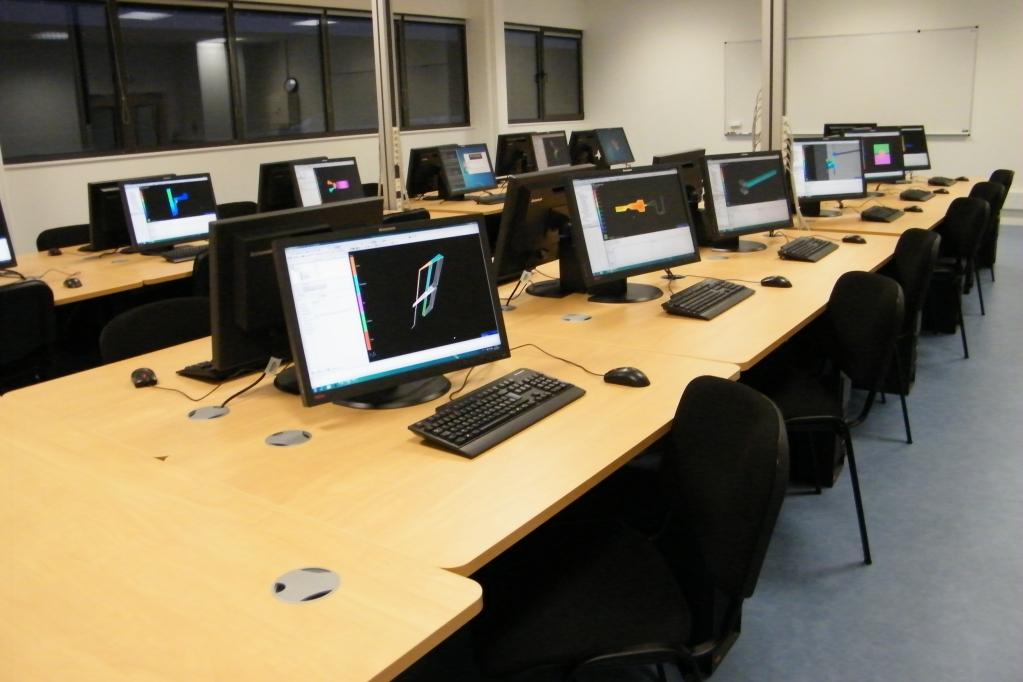 Salle de simulation numérique