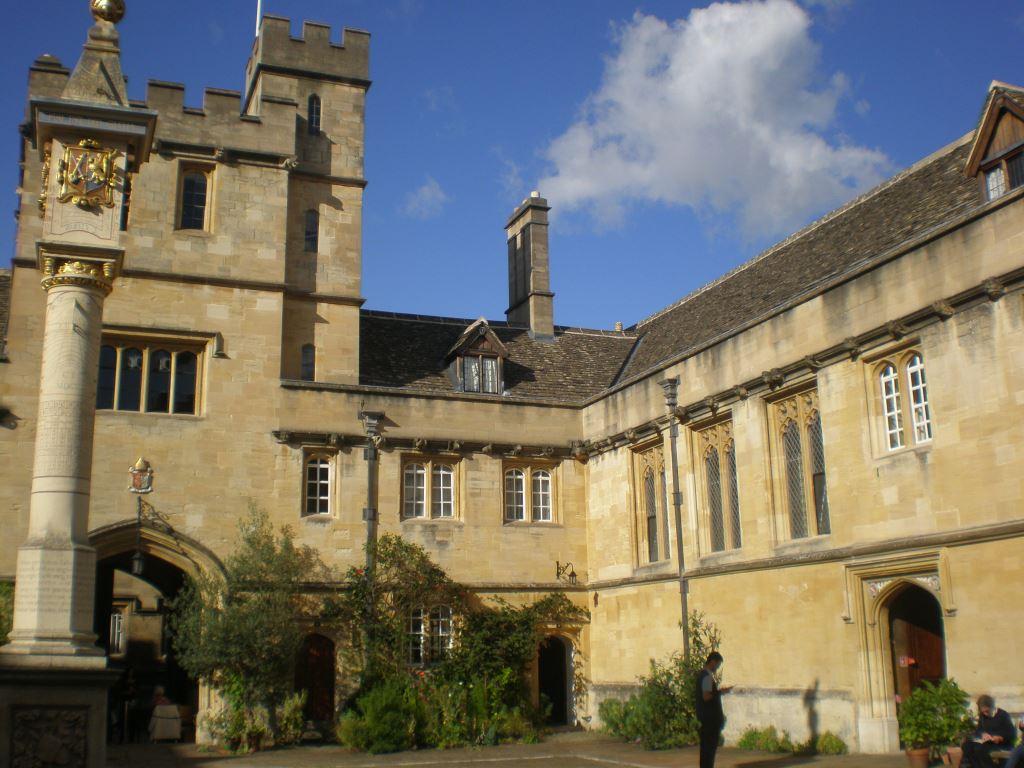 séjour des apprentis Matériaux-Mécanique à Oxford