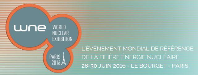 WNE World Nuclear Exhibition du 28 au 30 juin
