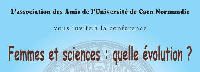 """Conférence """"Femmes et sciences : quelle évolution ?"""" le 30 mai"""