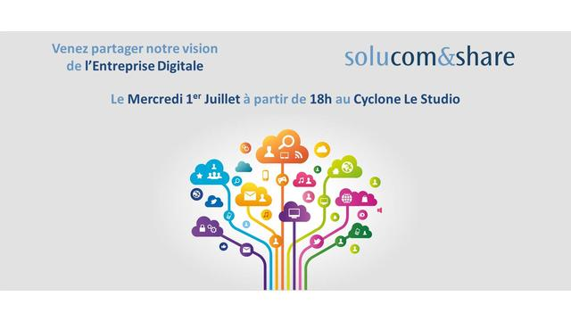 Solucom&share sur l'entreprise digitale le 1er juin