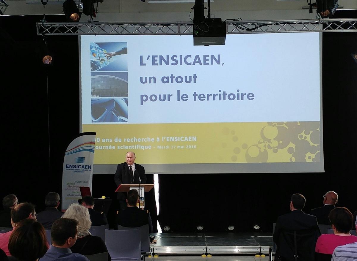 Jean-François Hamet Directeur Général Ensicaen