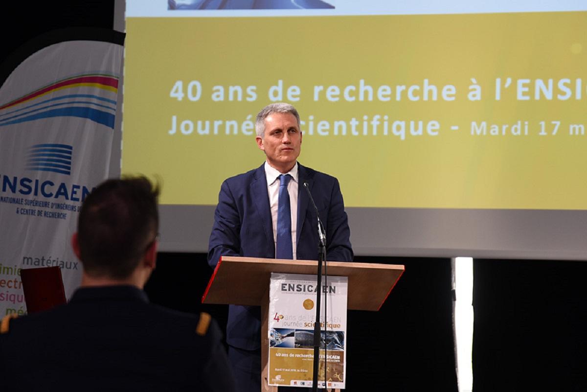 Joël Bruneau Maire de Caen et Président de l'agglomération Caen la mer