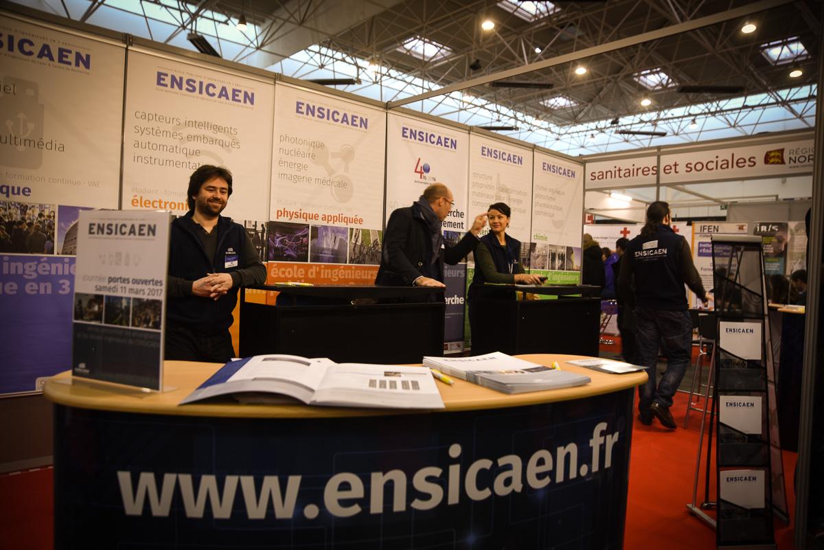 L'ENSICAEN au Salon de l'Etudiant de Caen les 2 et 3 décembre