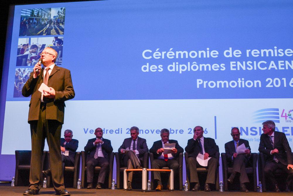 Remise des diplomes ENSICAEN 2016