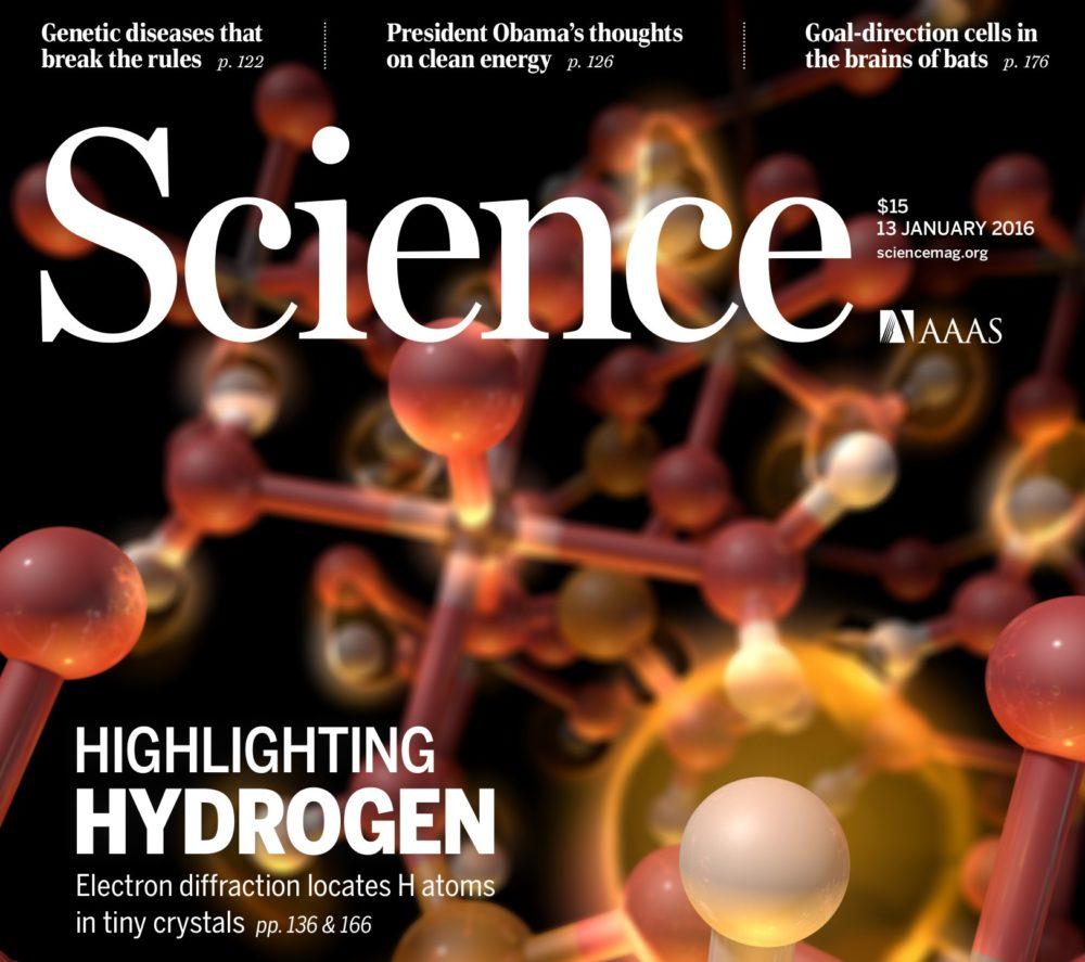 Revue Science : les recherches du CRISMAT et du LCS en couverture