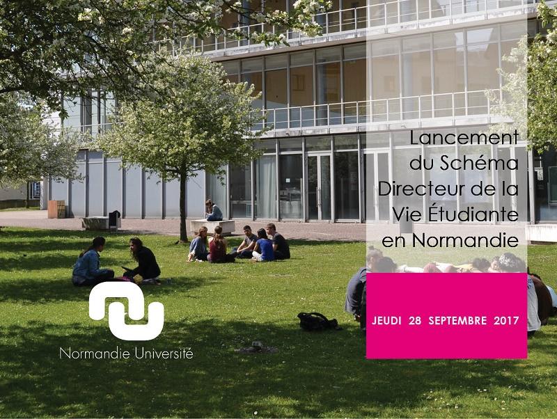 Lancement du Schéma Directeur de la Vie Étudiante en Normandie