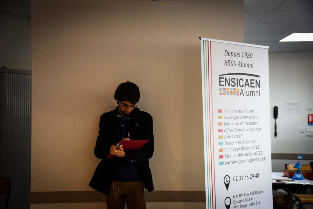 Franc succès pour le forum Entreprises - Etudiants