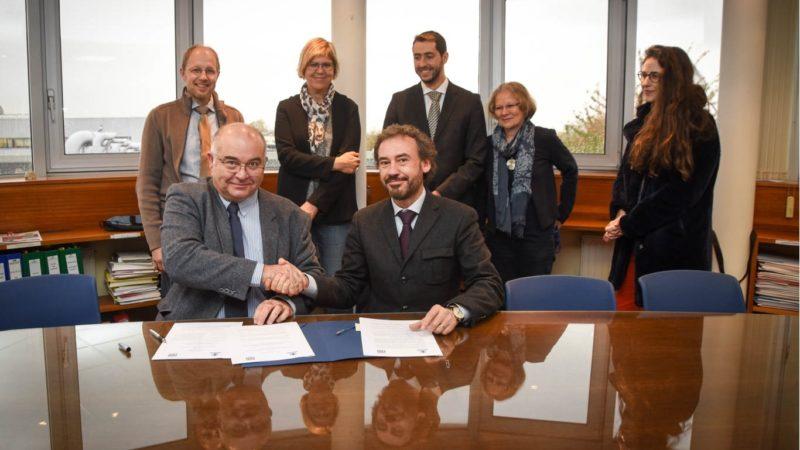 Signature d'un accord de double-diplôme avec l'Universidad Politecnica Madrid