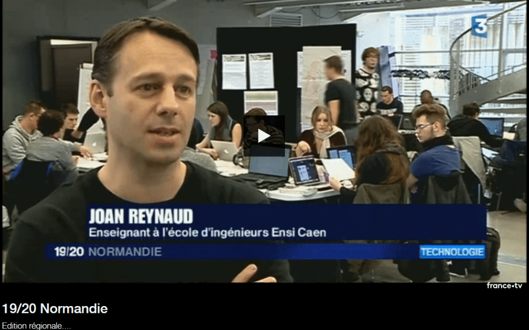 Reportage «Semaine Intensive» sur France 3 Normandie