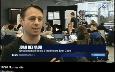 Reportage « Semaine Intensive » sur France 3 Normandie