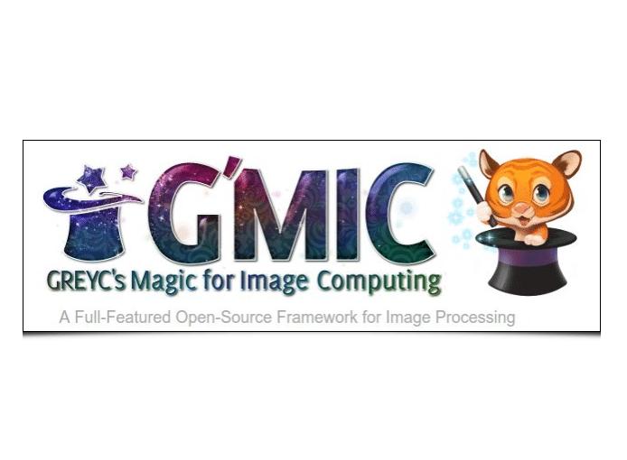 Nouvelle version du logiciel G'MIC développé par le GREYC