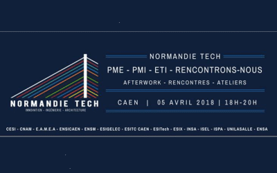 Afterwork Normandie Tech jeudi 5 avril à Caen