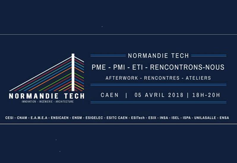 Afterwork Normandie Tech jeudi 5 avril à Caen