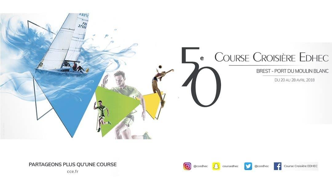 Six étudiants ENSICAEN à la Course Croisière EDHEC