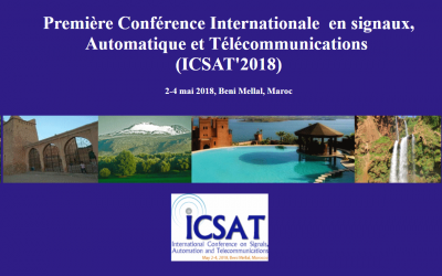 L'ENSICAEN à la première Conférence Internationale en Signaux, Automatique et Télécommunications
