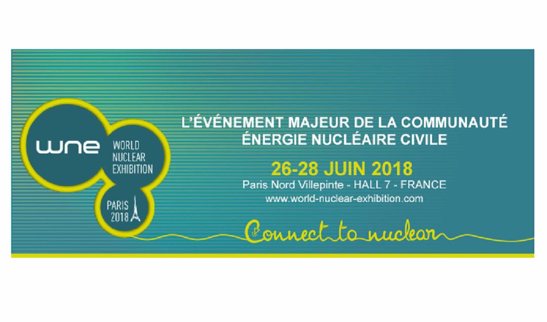 La formation en Génie Nucléaire de l'ENSICAEN présentée sur le stand de l'I2EN à la World Nuclear Exhibition