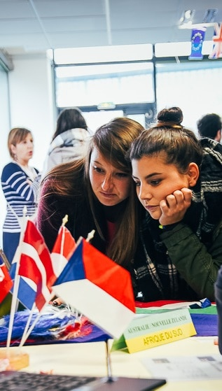 Etudiants étrangers, immersion culturelle