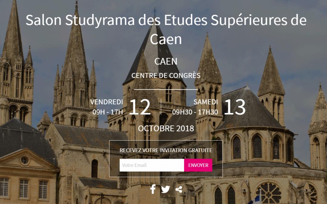 L'ENSICAEN au Salon Studyrama des Études supérieures – stand 14