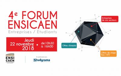 Forum Entreprises-Etudiants de l'ENSICAEN