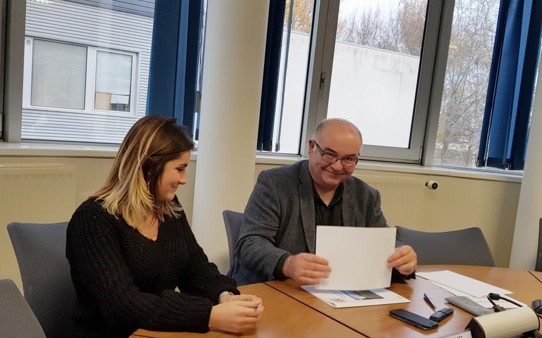 L'ENSICAEN signe la Charte Prévention de Cpas1option