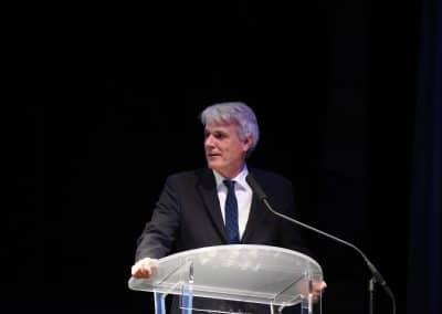 Pierre Denise, président de l'Université de Caen