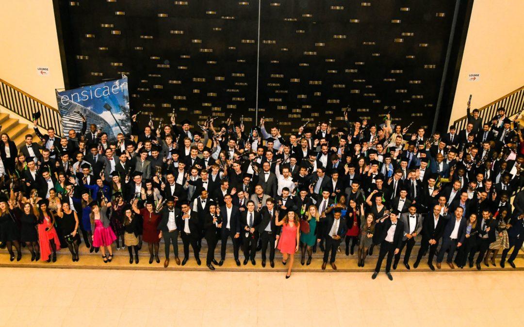 Cérémonie de remise des diplômes 2018 de l'ENSICAEN