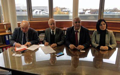L'ENSICAEN reçoit une délégation de l'IAHEF et du GIE Monétique