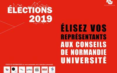 Normandie Université : élections des représentants des étudiants et des personnels