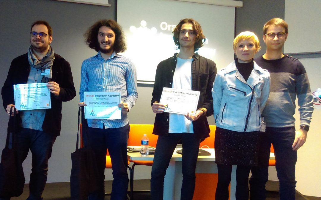 3e édition Orange Innovation Academy : Eggplant remporte tous les suffrages