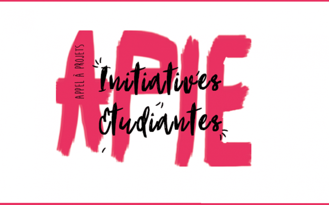 Appel à projets Initiatives Étudiantes Normandie Université «APIE» 2019