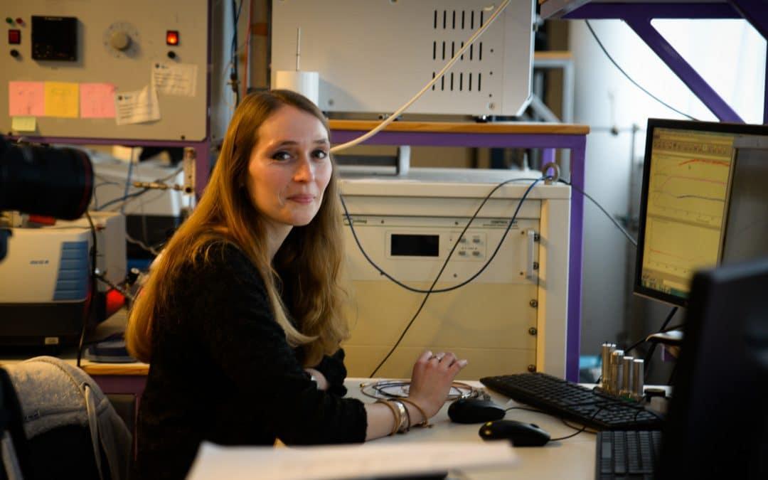 Josefine Schnee, jeune chercheuse au LCS, à l'honneur lors de «Caen Cause Normand 3»