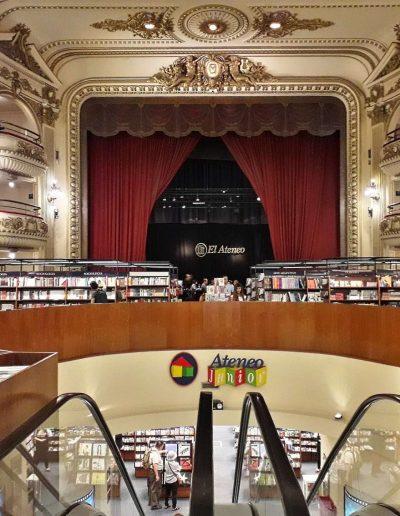 El Ateneo, librairie dans l'ancien théâtre Grand Splendid (Ar)