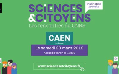 Rencontres du CNRS Sciences et Citoyens