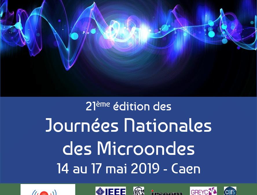 Journées Nationales Microondes, du 15 au 17 mai 2019 à Caen