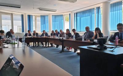 Visite du Préfet du Calvados et du Secrétaire Général pour l'investissement, le 17 juin à l'ENSICAEN