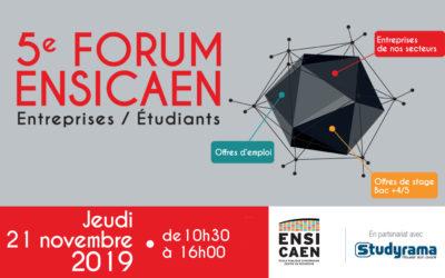 Forum Entreprises-Étudiants de l'ENSICAEN