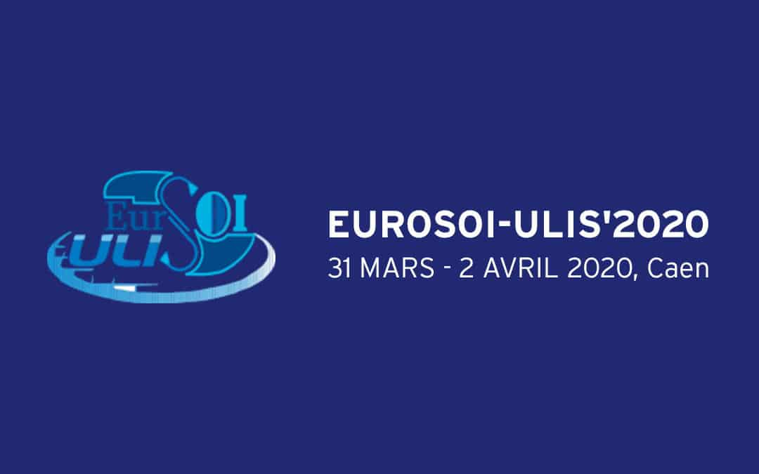 EUROSOI-ULIS 2020 à Caen