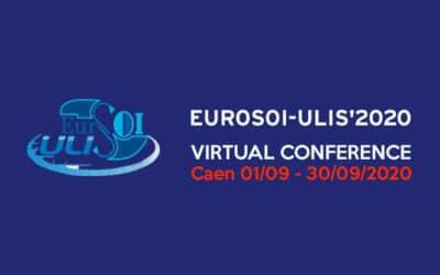 EUROSOI-ULIS 2020 en virtuel