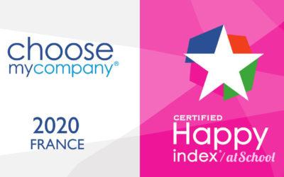 L'ENSICAEN labellisée HappyAtSchool® 2020