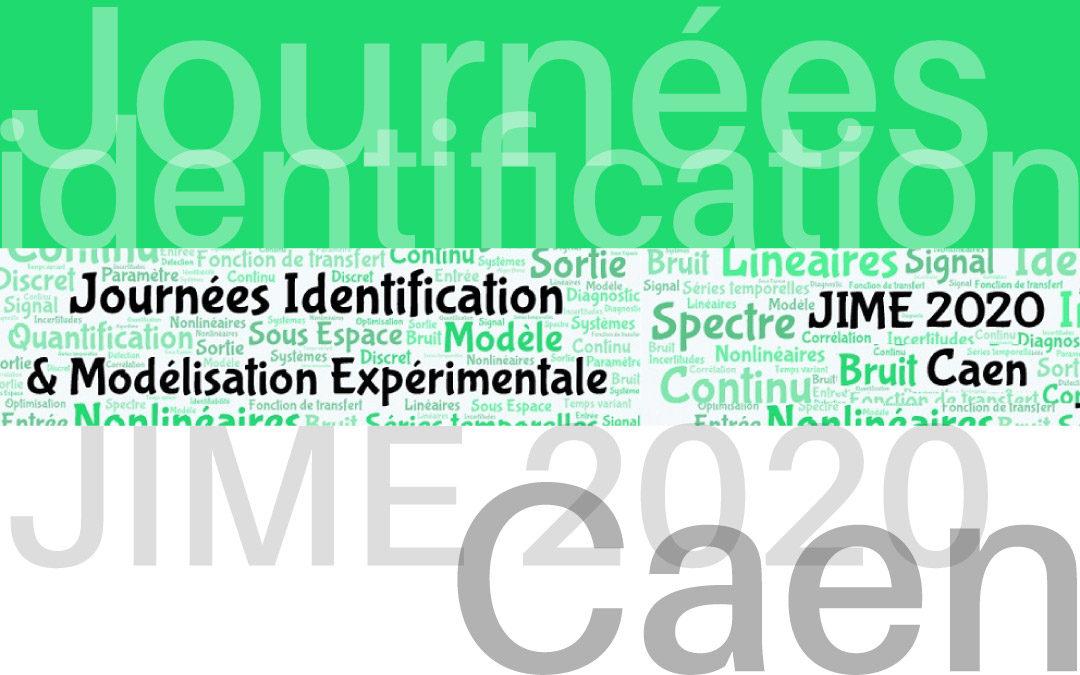Journées Identification et Modélisation Expérimentale 2020
