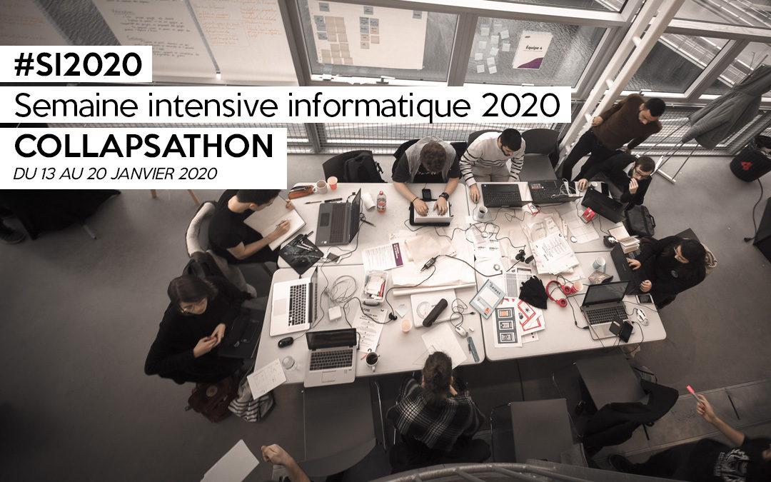 Semaine intensive informatique 2020 : Collapsathon