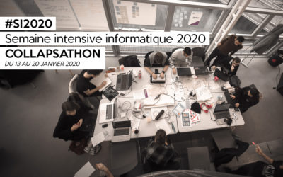 Semaine intensive informatique 2020 : Collapsathon