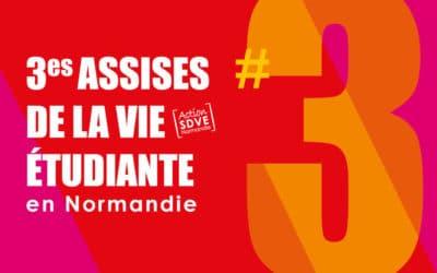 3es Assises de la vie étudiante en Normandie – REPORTÉES