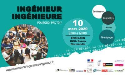 Conférence Ingénieure Ingénieur – Pourquoi pas toi ?