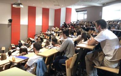 289 nouveaux étudiants pour cette rentrée 2020