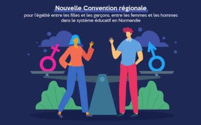 Nouvelle Convention régionale pour l'égalité entre les filles et les garçons, entre les femmes et les hommes dans le système éducatif en Normandie