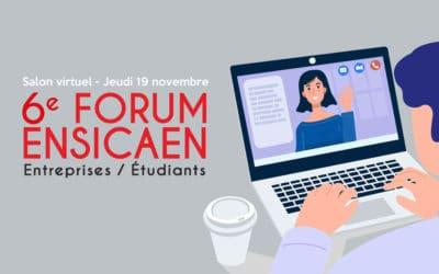Une journée riche en partage pour la 6e édition du Forum « Entreprises-Étudiants » au format virtuel