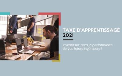 Taxe d'apprentissage 2021 : Choisir le développement des formations de l'ENSICAEN !